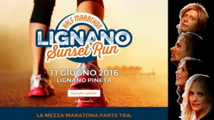 ABBA Lignano Sunset Run Poster